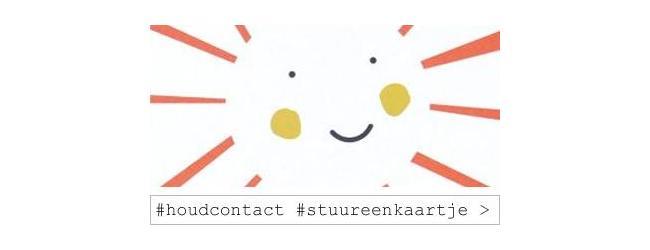 #houdcontact #stuureenkaartje