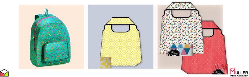 66ab0f094a7 opvouwbare tassen en rugzakken | Muller wenskaarten | online ...