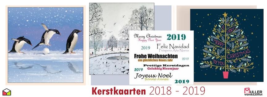 kerstkaarten 2018 - 2019