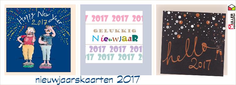nieuwjaarskaarten 2017