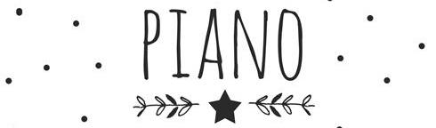 piano handwriting