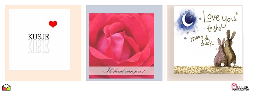 romantische kaarten