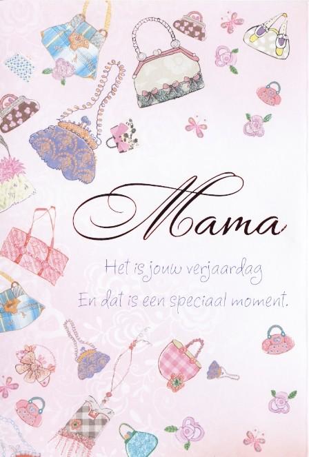 Verjaardagskaart Tender Moments Mama Het Is Jouw Verjaardag