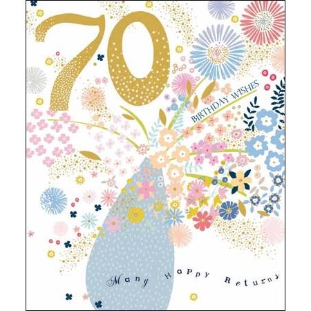verjaardagskaart 70 jaar 70 jaar   grote verjaardagskaart woodmansterne   birthday wishes  verjaardagskaart 70 jaar