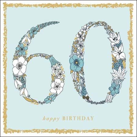 Uitzonderlijk 60 - 69 jaar | verjaardagskaarten | Muller wenskaarten | online &NW96