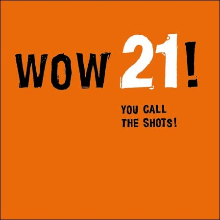 21 jaar - Woodmansterne - wow 21!