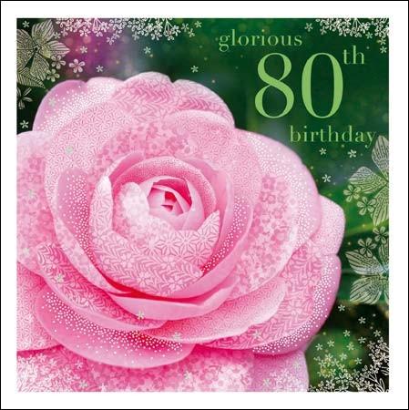 verjaardagskaart 80 jaar 80 jaar   verjaardagskaart woodmansterne esprit   glorious 80th  verjaardagskaart 80 jaar
