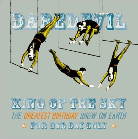 Woodmansterne: Daredevil king of the sky - greatest birthday - turnen