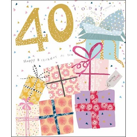 Populair 40 - 49 jaar | verjaardagskaarten | Muller wenskaarten | online &RK21