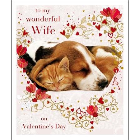 Grote Valentijnskaart Woodmansterne