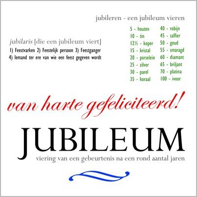 van harte gefeliciteerd met je jubileum Jubileum   van harte gefeliciteerd | Muller wenskaarten van harte gefeliciteerd met je jubileum