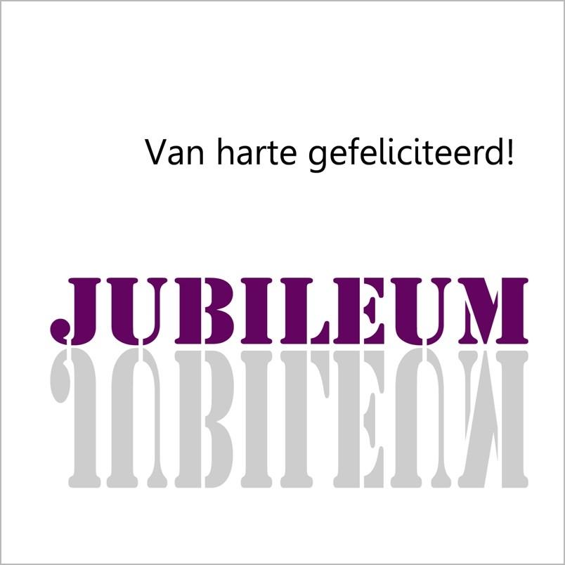 gefeliciteerd jubileum wenskaart spiegel   van harte gefeliciteerd! jubileum | muller  gefeliciteerd jubileum