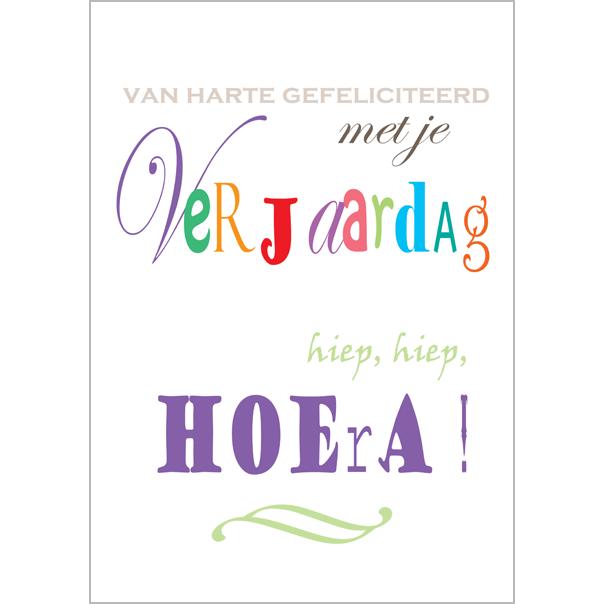gefeliciteerd met de verjaardag van grote kaart A4   van harte gefeliciteerd met je verjaardag  gefeliciteerd met de verjaardag van