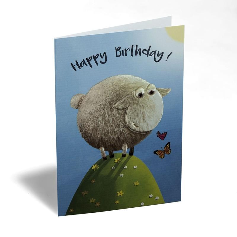 Verjaardagskaart Happy Birthday Schaap Busquets Muller