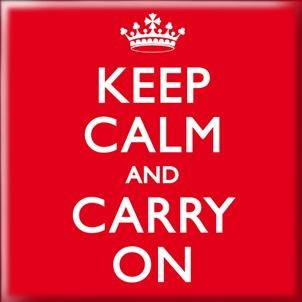 Magneet: Keep calm and carry on