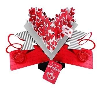 3d Valentijnskaart Pop Ups Love You Happy Valentines Day