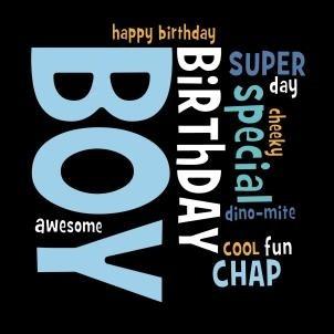 verjaardagskaart wordy birthday boy muller wenskaarten online