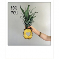 ansichtkaart instagram - for you - ananas met hart