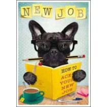wenskaart nieuwe baan - how to ace your new job