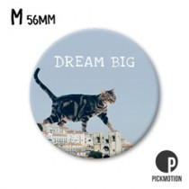 koelkastmagneet pickmotion - dream big - kat