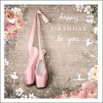 verjaardagskaart woodmansterne esprit - happy birthday to you - balletschoentjes