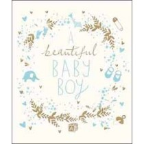 luxe geboortekaart woodmansterne - beautiful baby boy