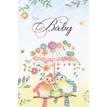geboortekaart tender moments - een baby