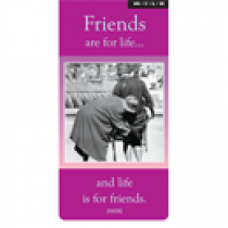 Magnetische boekenlegger: Friends are for life.. (M.I.L.K.)