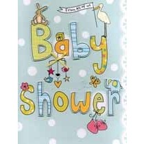grote zwangerschapskaart A4 - baby shower from all of us