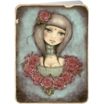santoro eclectic cards - mirabelle: all is not lost
