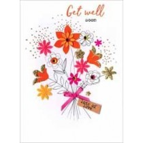 beterschapskaart - get well soon lots of love