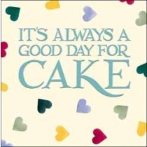 wenskaart emma bridgewater - it s always a good day for cake