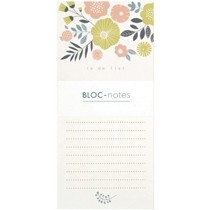 magnetisch notitieblok mini labo - to do list - bouquet