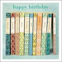 verjaardagskaart woodmansterne esprit - happy birthday - engelse boeken