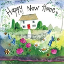 wenskaart alex clark - happy new home