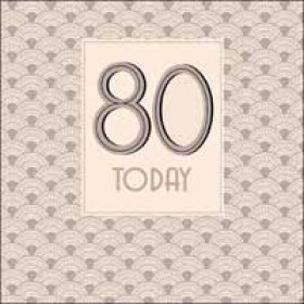 80 jaar - Woodmansterne - 80 today