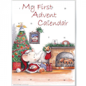 adventskalender A4+ met envelop - my first advent calender