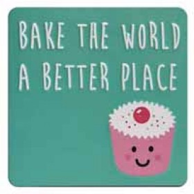 tinnen magneet - bake the world a better place
