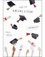 wenskaart geslaagd - you have graduated! hooray! well done!