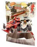 3D kaart - swing cards - race auto