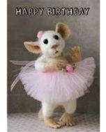 santoro tiny squee mousies verjaardagskaart - happy birthday