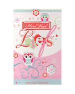 valentijnskaart - heel veel liefs voor mijn valentijn