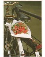 ansichtkaart  - tulpen uit amsterdam van tjalf sparnaay
