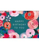 verjaardagskaart woodmansterne blush - happy birthday to you