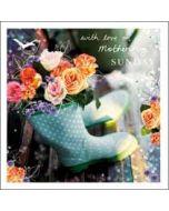 moederdagkaart woodmansterne esprit - with love on mothering sunday - laarzen