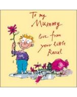 moederdagkaart quentin blake - to mummy love from your little rascal