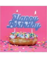 verjaardagskaart rapture - happy birthday - donut