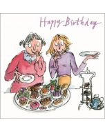 verjaardagskaart quentin blake - happy birthday