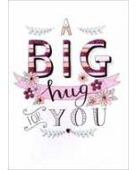 verjaardagskaart - a big hug for you