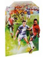 3D kaart - swing cards - voetbal